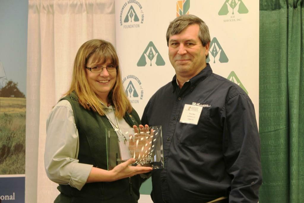 2012 Iowa CCA of the Year